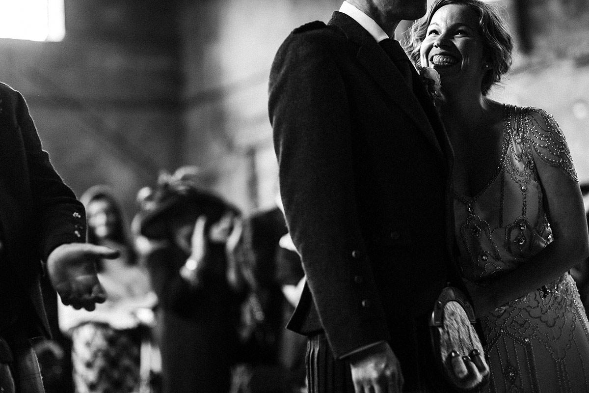 london black and white wedding photography