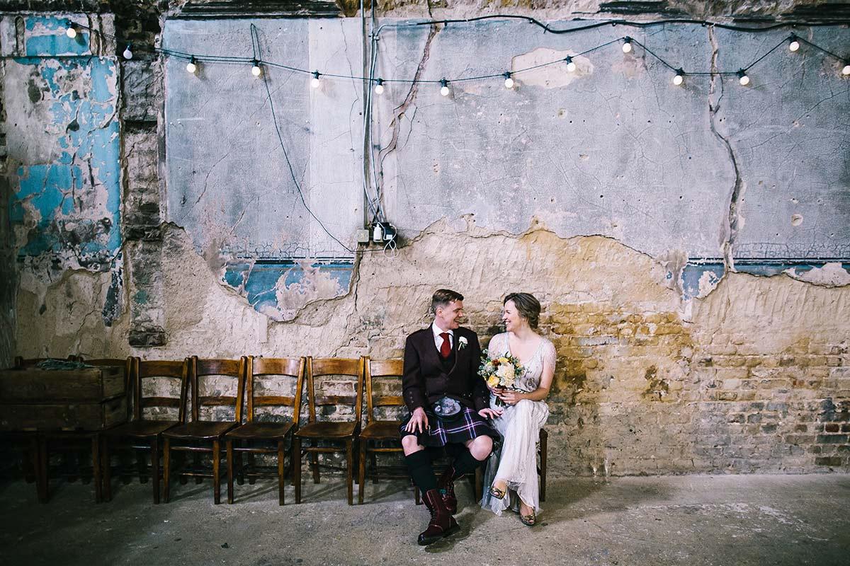 the asylum peckham wedding