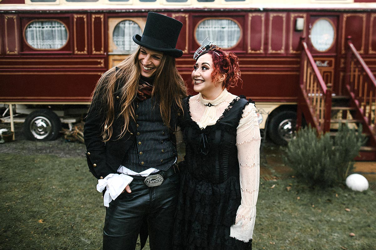 circus showmans wagon