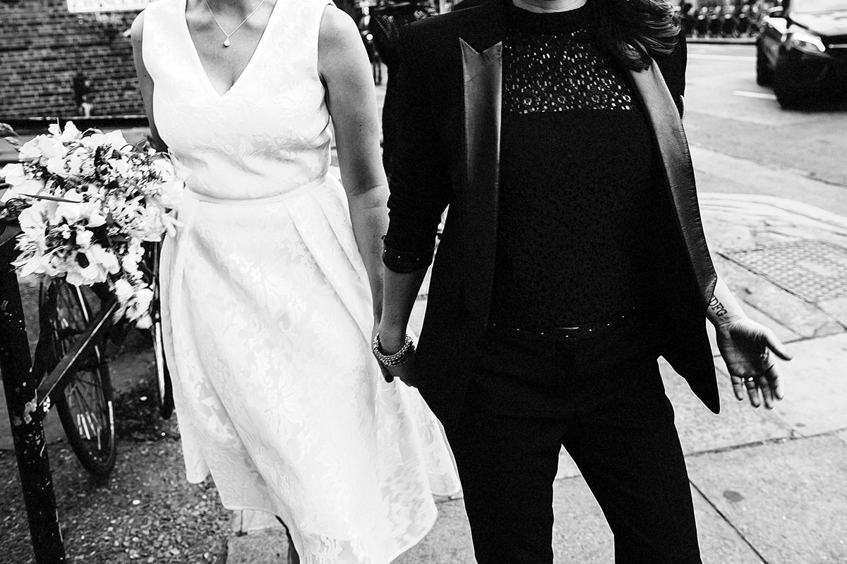 wedding black and white photographers