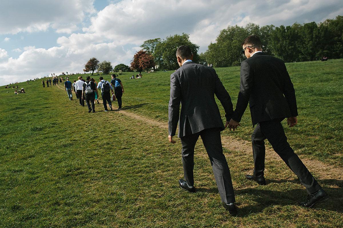 london wedding bus tour
