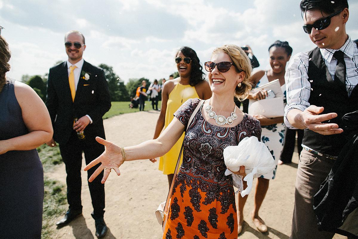 fun reportage wedding photographers