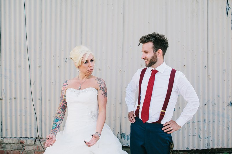 rock 'n' roll bride wedding photographer