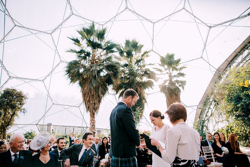 Eden Project Wedding