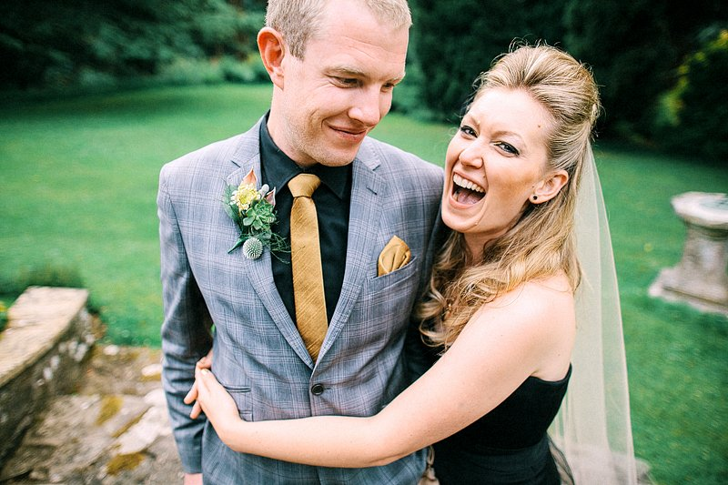 Gliffaes Hotel Wedding Photos