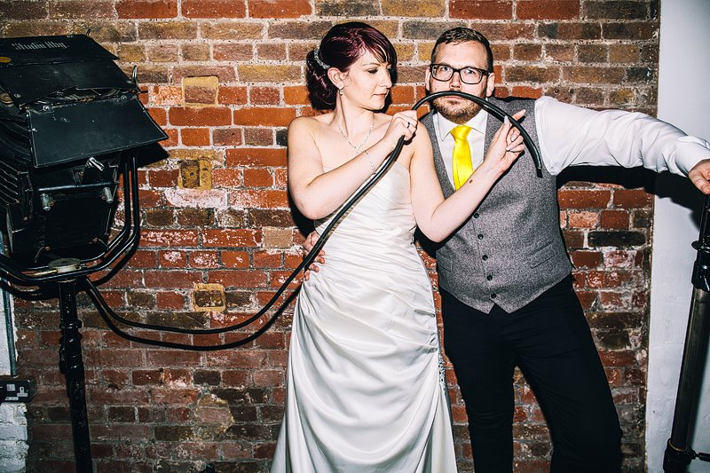 wedding at loft studios