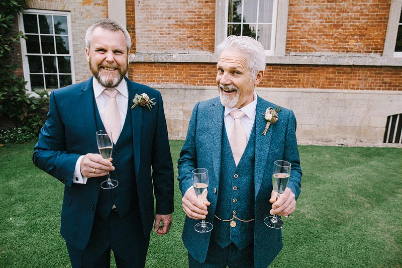 Kelmarsh hall wedding