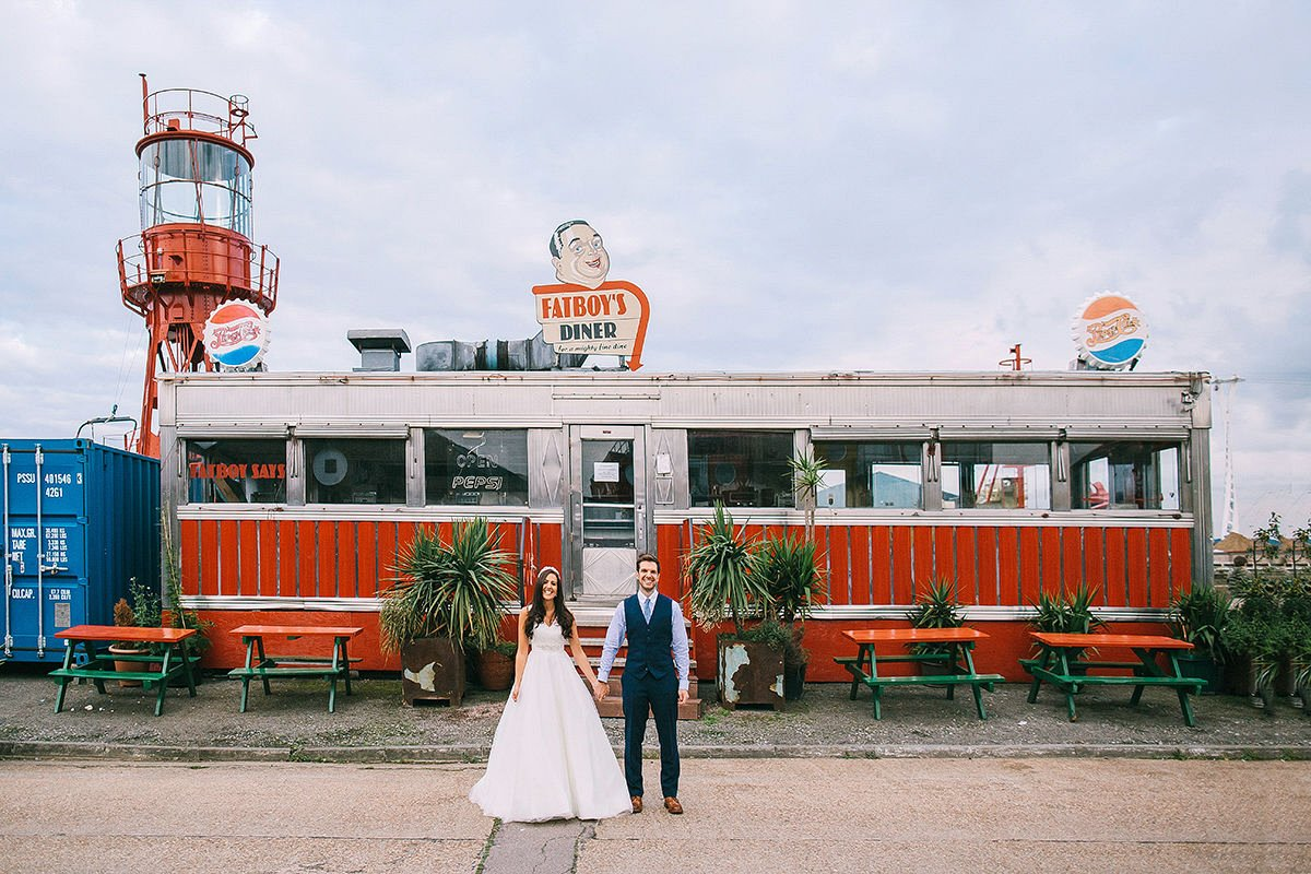 wedding photographers trinity buoy wharf