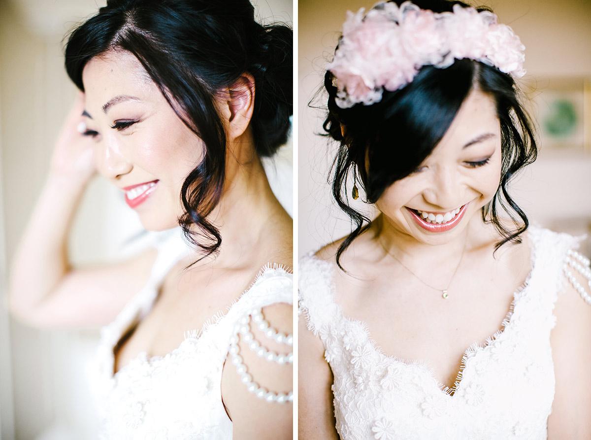 blush pink bridal