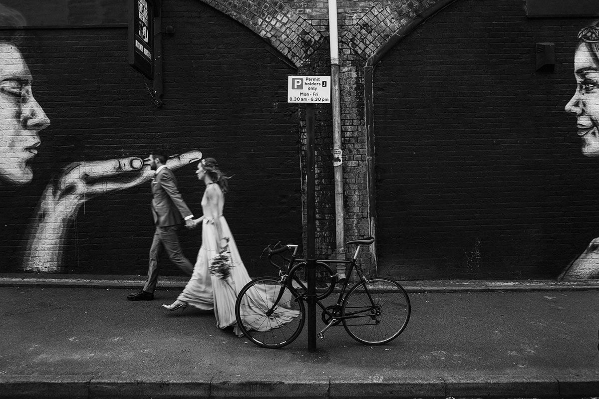 black and white wedding photographers london
