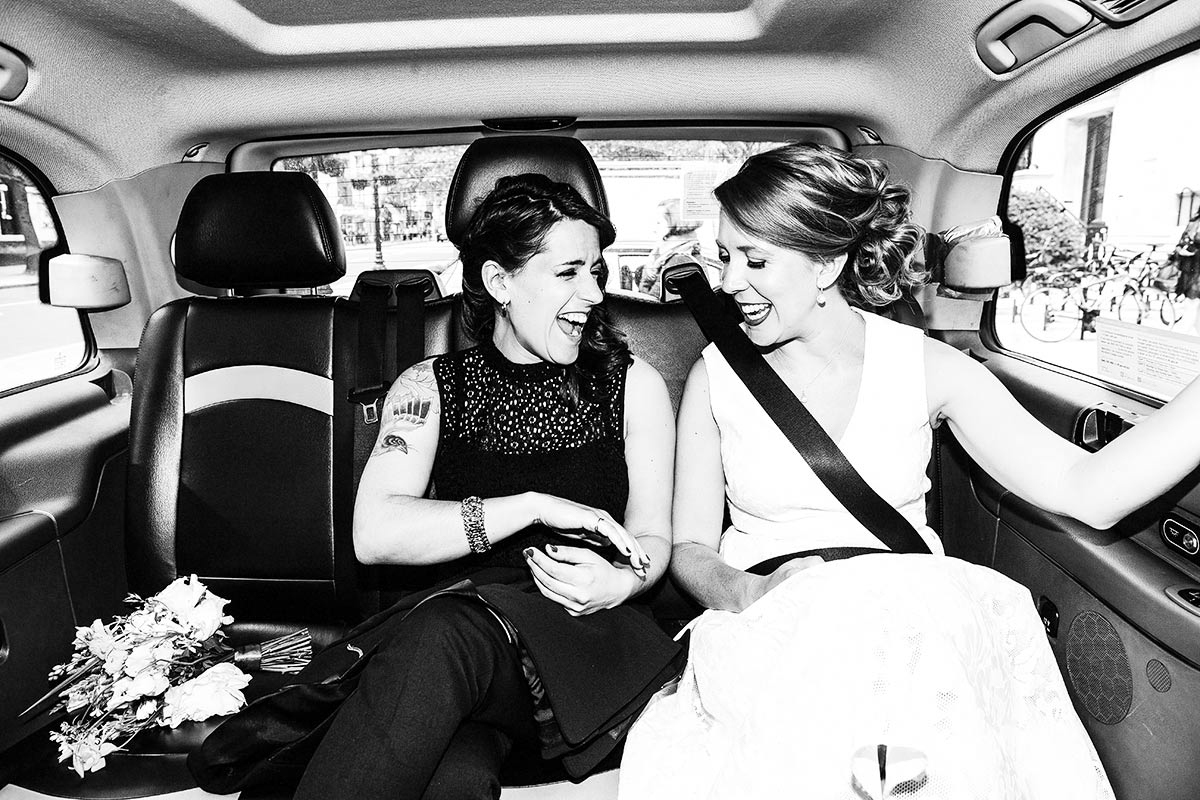 london cabs wedding