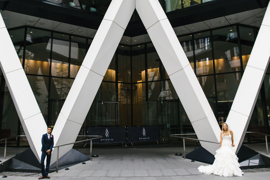 gherkin london wedding