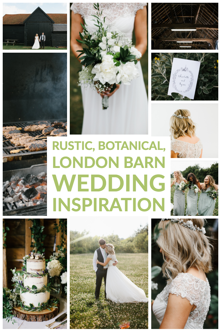 Rustic London Wedding