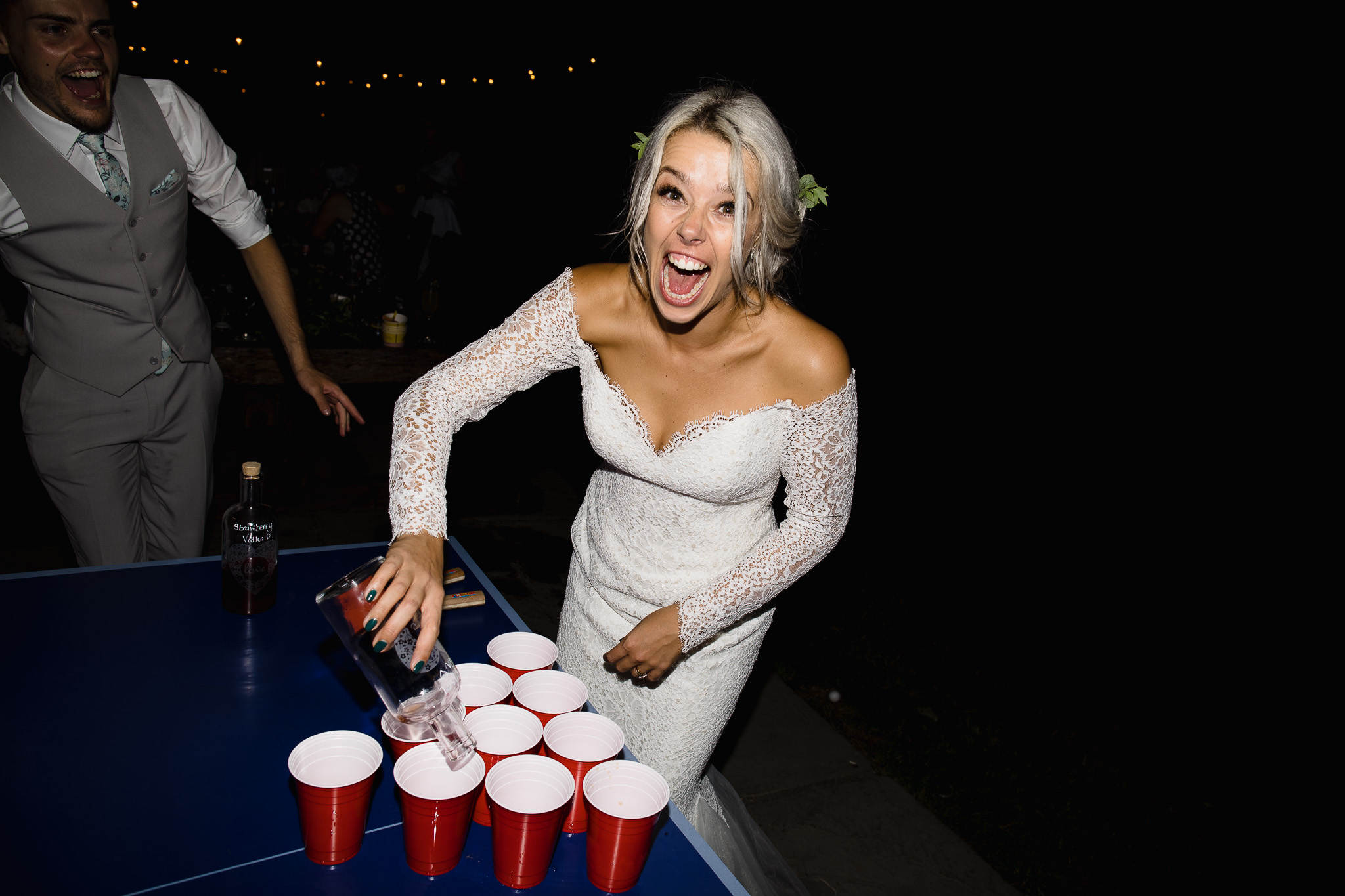 beer pong weddings