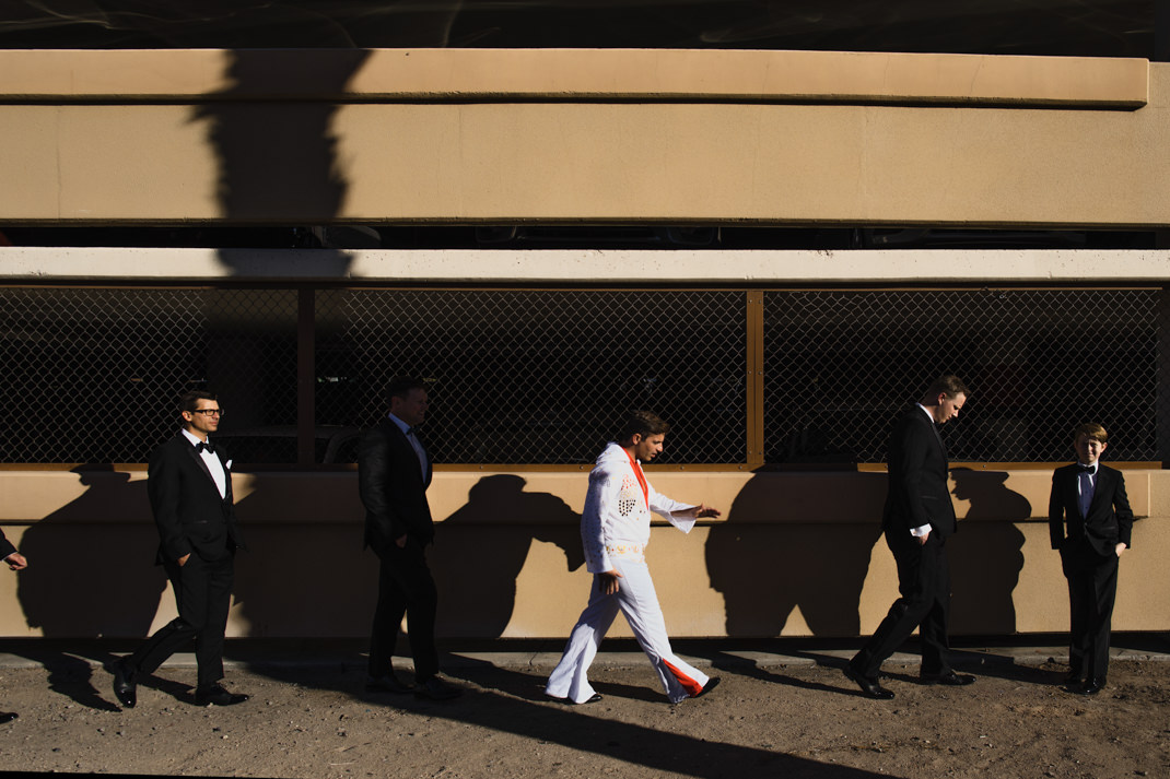 freemont street wedding