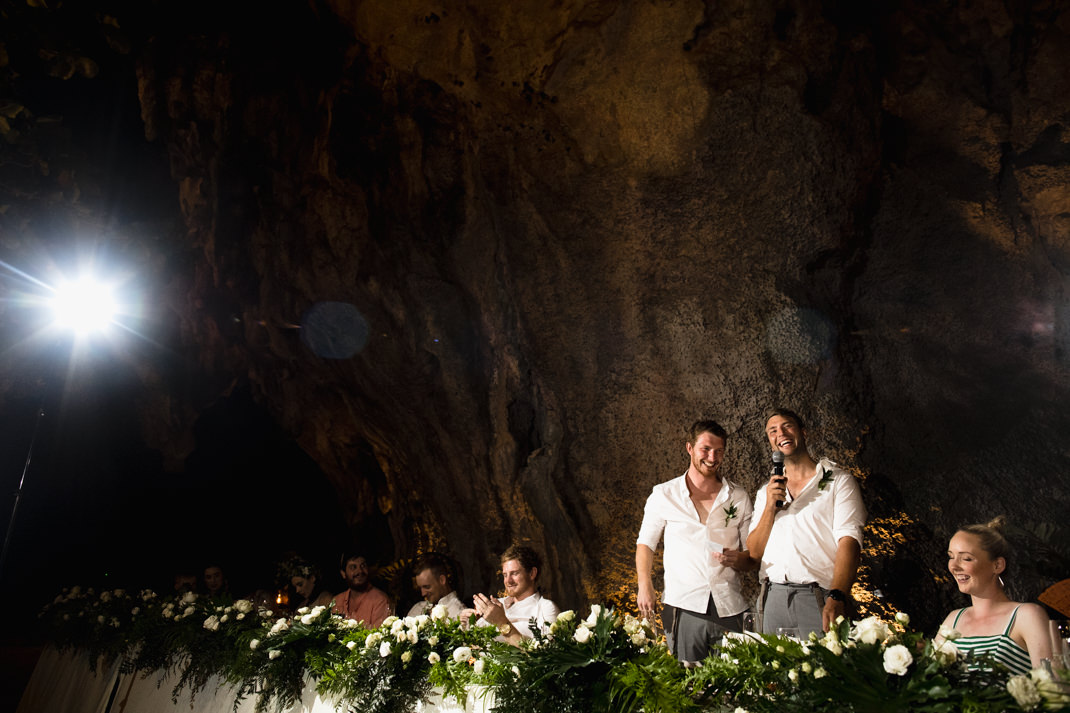 cave wedding krabi