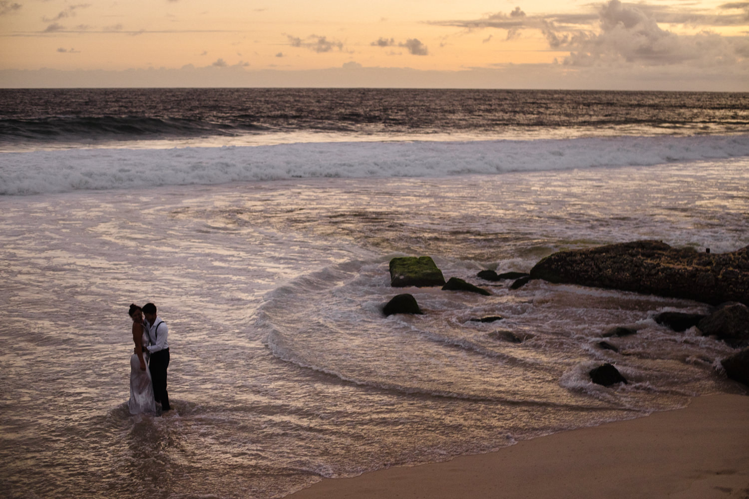 rio beach wedding