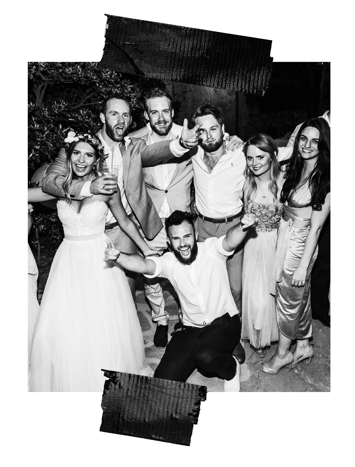fun wedding photographers